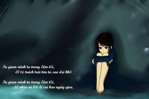 Chùm stt cô đơn về đêm, buồn chán về cuộc sống, tình yêu