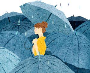 Xao xuyến trước những bài thơ buồn về mưa đi vào lòng người