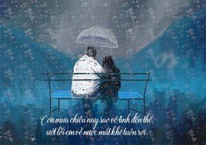 Những stt ngôn tình về mưa đặc sắc lãng mạn khiến chị em nghiêng ngả