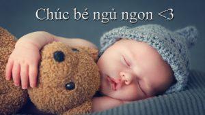 Chia sẻ những bài thơ chúc bé ngủ ngon đầy ngọt ngào nhất