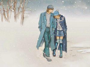Chìm đắm vào những bài thơ tình mùa đông cô đơn lạc lõng nhất