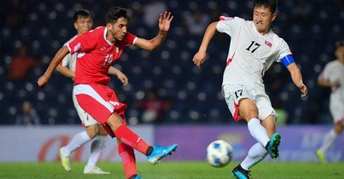 Trực tiếp UAE gặp U23 Triều Tiên