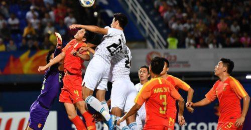 Trực tiếp Trung Quốc gặp U23 Uzbekistan