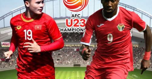 Trực tiếp Việt Nam gặp U23 Jordan hôm nay 20h15