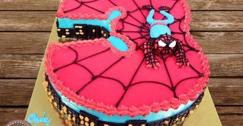 Trọn bộ hình ảnh bánh sinh nhật siêu nhân cho bé ngộ nghĩnh nhất