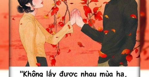 Những câu nói ngôn tình ngọt ngào thả thính như rót mật vào tai