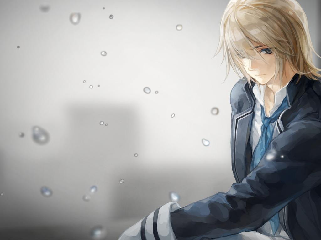Ảnh anime boy buồn nhất