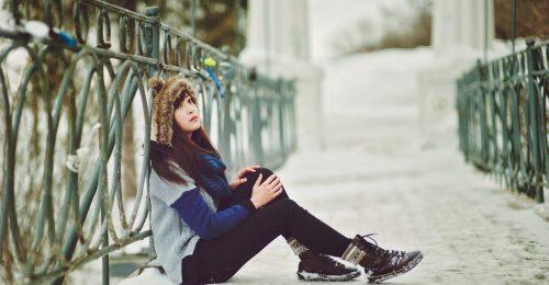 #101 Hình ảnh mùa đông cô đơn một mình lạnh lẽo nhớ người