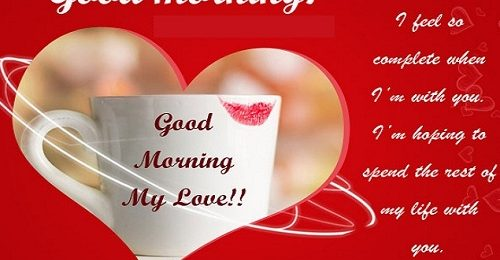 [HOT] những lời chúc buổi sáng cho người yêu ngọt ngào, lãng mạn