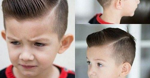 Cập nhật các kiểu tóc đẹp cho bé trai dễ thương,hot nhất hiện nay