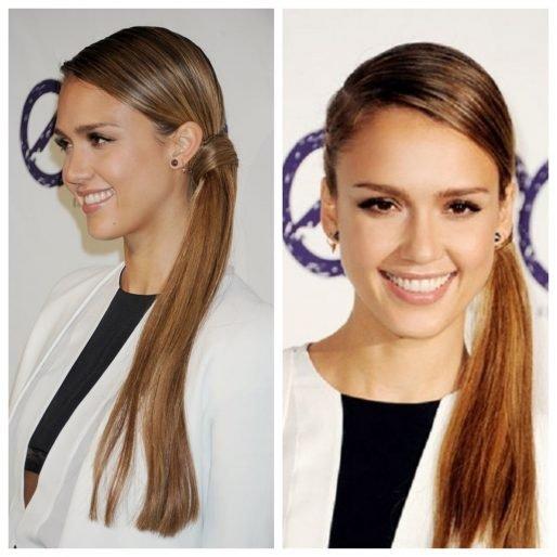 các kiểu tóc dài thẳng