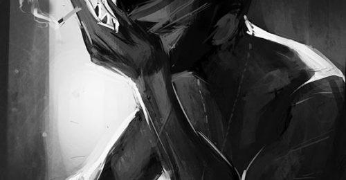 [BỘ] Ảnh con trai buồn khóc – Khép mi cho nỗi đau chảy ngược