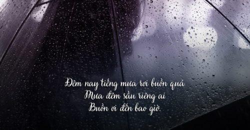 STT MƯA – 901+ dòng stt ngày mưa mang nỗi nhớ khôn nguôi