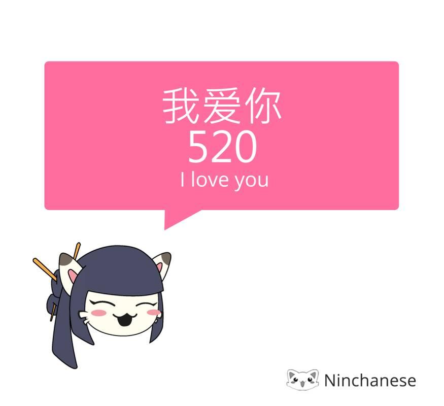 Giải mã con số 520 là gì? Ý nghĩa các con số khác trong tiếng Trung
